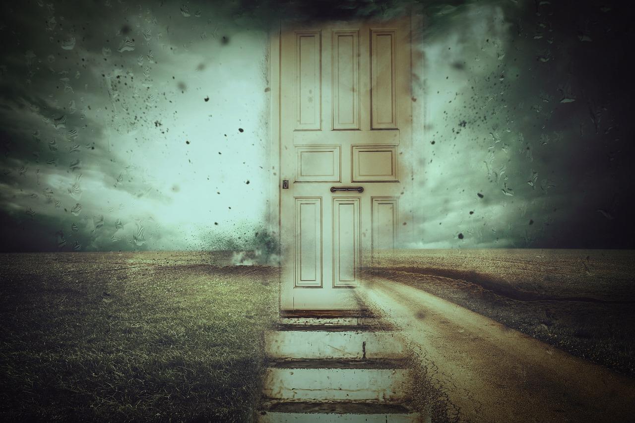 een nieuwe deur